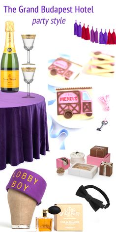 The Grand Budapest Hotel Movie Party Style!