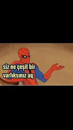 Örümcek adam siz be çeşit bir varlıksınız aq Love Memes Funny, Memes Funny Faces, Cartoon Memes, Funny Relatable Memes, Funny Posts, Fake Instagram, Foto Gif, Current Mood Meme, Clean Memes