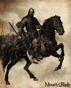 Mount & Blade PC Artworks, images - Legendra RPG Fantasy Characters, Ancient Warriors, Military Art, Fantasy Warrior, Knight On Horse, Art, Warrior, War Art, Horse Tattoo