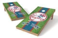 New York Yankees Single Cornhole Board - Field