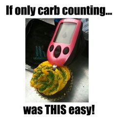 If only carb counting were this easy. I want a pink meter!!!
