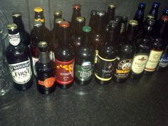 Some of the Craft Beers soon to be reviewed on www.youtube.com/realaleguide