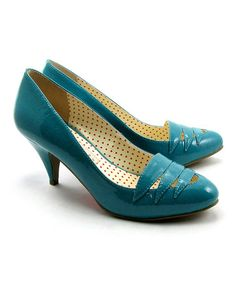 Take a look at this Turquoise Hunter Pump by B.A.I.T. on #zulily today!