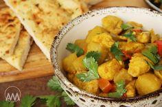 V kuchyni vždy otevřeno ...: Jednoduché bramborové curry s kuřecím masem