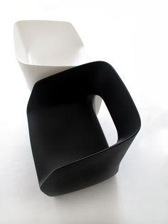 martinazua martin - armchair chair, mobles114-m114-plastic-recyclable