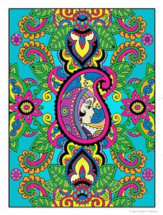 Creative Haven Mehndi Designs Coloring Book, Dover Publications Coloring Tips, Adult Coloring, Coloring Books, Coloring Pages, Art Nouveau, Mehndi Designs, Color Combos, Art Lessons, Creative Art