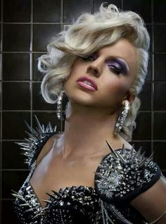 Courtney Act.  Pure fish.
