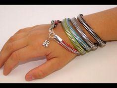 SO making one! (or more…) DIY Zipper Bracele… 5 minute cute zipper bracelet! SO making one! (or more…) DIY Zipper Bracelet Beaded Jewelry, Jewelry Bracelets, Handmade Jewelry, Diy Zipper Jewelry, Zipper Bracelet, Diy Bracelet, Zipper Flowers, Homemade Bracelets, Zipper Crafts
