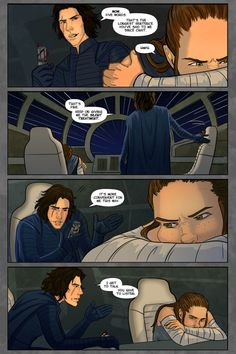 I made another comic :D It's part of a May collection put together by the lovely folks at Mine turned into a long one! Film Star Wars, Star Wars Meme, Star Wars Quotes, Amour Star Wars, Ren Star Wars, Star Trek, Star Wars Comics, Star Wars Tattoo, Star Citizen
