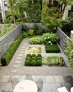 geometry; my dream garden space for small yard.