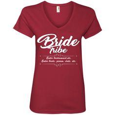 Bride Tribe - Ladies' V-Neck Tee