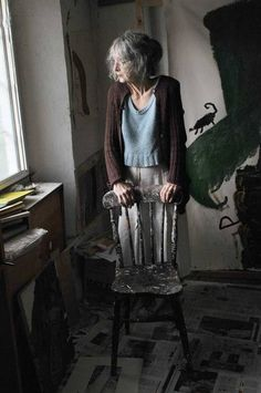 In The Studio: Rose Wylie, artist - Features - Art - The Independent