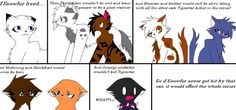 Uh, what? How does Snowfur dying make Hawkfrost evil? I'm pretty sure he was a bad cat before her death...