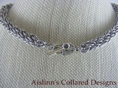 CCC BDSM Gorean Slave Collar Choker Necklace by aislinnscollared