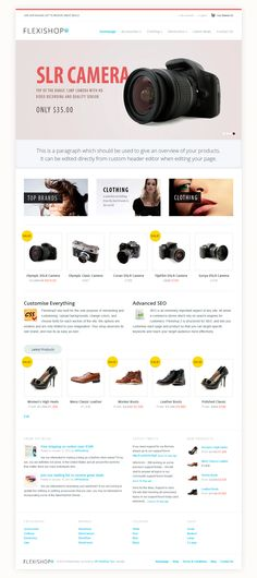 Boxed Style, Responsive Layout
