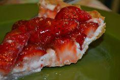A Taste of Alaska: Fresh Strawberry Pie with no added sugar.
