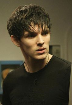 """Colin Morgan in Doctor Who. Just watched this and when I saw him I jumped up ran to my mon and started screaming """"Merlin!!! Merlin is here in with the Doctor on a bus!!!!! Guess he's STILL waiting for Arthur..."""""""