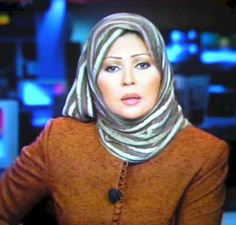 Algerian news reporter Khadija Ben Genna
