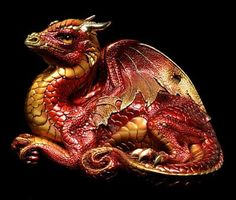 Old Warrior Dragon - Red Fire