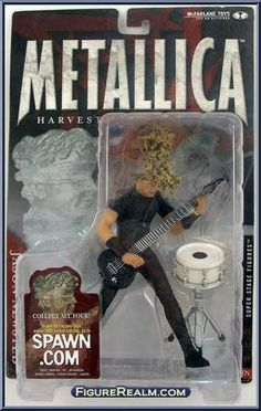 Jason Newsted action figure