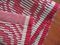 Warp Rep Placemats, 14″ x 18″, cotton, 2011 (detail)