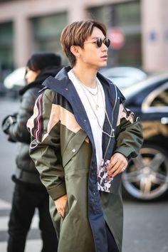 NAOTO/「ディオールオム(Dior Homme)」2017-18秋冬コレクション(写真:Getty Images)