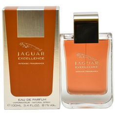 Jaguar Excellence Intense Eau De Parfum Spray for Men, 3.4 Ounce by Jaguar. $60.00