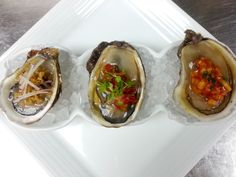 Trio of East Coast Oysters for #oysterweek #oysterhood #oystafarian