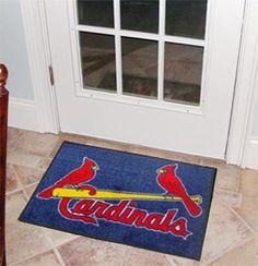 """MLB - St. Louis Cardinals Starter Rug 19""""x30"""""""
