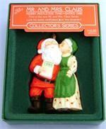 1986 Mr. and Mrs, Claus Hallmark Ornament - Retired Hallmark Ornaments