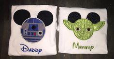 Star Wars Mickey ears shirt by BellaRagazzi on Etsy