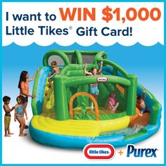 *THIS SWEEPSTAKES HAS ENDED* Repin if you want to #win a $1,000 @Kathy Davis-Reid Tikes gift card!