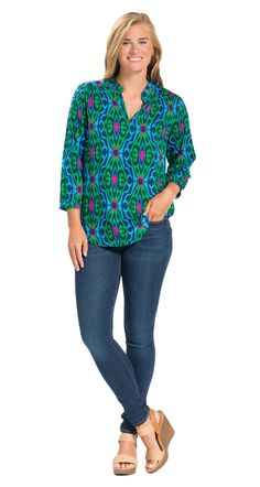 You'll love these tunic tops, sleeve shirts, sleeveless resort wear tank tops, & embellished embroidered blouses. Neutral Wedges, 3 4 Sleeve Shirt, Embroidered Blouse, Resort Wear, Stitch Fix, Tunics, Blouses, Tunic Tops, Palm Beach