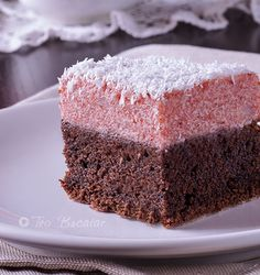 prajitura de post Romanian Desserts, Romanian Food, Sweet Recipes, Cake Recipes, Dessert Recipes, Vegetarian Recipes, Cooking Recipes, No Bake Cake, Vanilla Cake