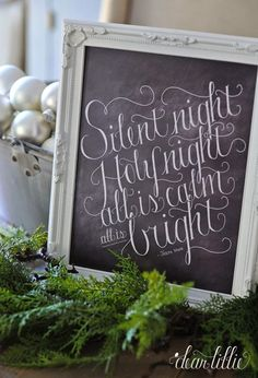 We are excited to have another new Christmas print available for you. Silent Night has always been my favorite Christmas hymn and we have offered it on pillows for several years now and are excited to