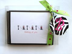 Note Card and Bag Tag Gift Set by Toddletags on Etsy, $22.00