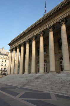 Brongniart Palace, 28 place de la Bourse, Paris II....réépinglé par Maurie Daboux.