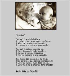 """26 de Julho ♥♥ """"DIA DOS AVÓS"""" ♥♥ """"DIA DA VOVÓ"""" ♥ ♥ """"FÊTE DES GRANDS-MAMANS ♥♥ """"JOUR DES MAMIES""""  http://paulabarrozo.blogspot.com.br/2012/07/26-de-julho-dia-dos-avos-dia-da-vovo.html"""