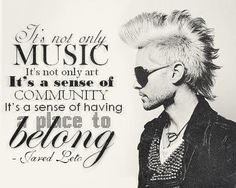 Jared Leto, Thirty Seconds To Mars & The Echelon Thirty Seconds To Mars, 30 Seconds, Jared Leto Quotes, Requiem For A Dream, Life On Mars, Shannon Leto, Music Lyrics, Lyric Quotes, Music Stuff