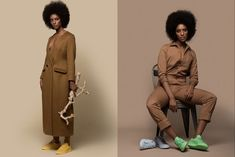 Solange's Latest Campaign Raises The Bar On What Diversity Looks Like #refinery29  http://www.refinery29.com/2015/08/91963/solange-puma-saint-heron