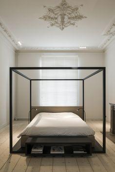 Comtemporary Bedroom In A Stunning Historical Home Renovation By Hans  Verstuyft Architecten