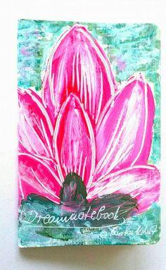NOTIZBUCH-DREAMNOTEBOOK NR.19  - KIRSTEN KOHRT ART von KIRSTEN KOHRT ART mit fairen Preisen, deshalb keine Rabattaktionen bei DaWanda. - International shipping available auf DaWanda.com