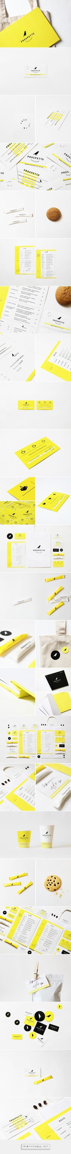 Prospetto Caffetteria Branding and Menu Design by Daria Stetsenko | Fivestar Branding Agency – Design and Branding Agency & Curated Inspiration Gallery