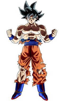 Goku Limit Breaker #2|FacuDibuja by FacuDibuja