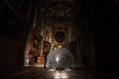 A French Church Gets A Flowering Heart Made Of Foil
