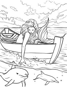 Here are the Popular Coloring Mermaid Coloring Page. This post about Popular Coloring Mermaid Coloring Page was posted under the Coloring Pages . Mermaid Coloring Pages, Coloring Pages To Print, Adult Coloring Pages, Printable Coloring Pages, Coloring Sheets, Coloring Books, Dolphin Coloring Pages, Fairy Coloring, Mandala Coloring