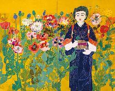 片岡球子(Kataoka Tamako)「初夏」(1956)