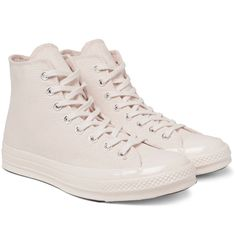 c4764efd43af CONVERSE 1970S CHUCK TAYLOR ALL STAR CANVAS HIGH-TOP SNEAKERS.  converse   shoes