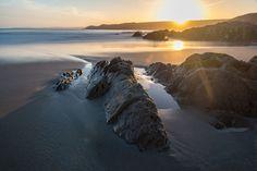Dunworley Beach Dawn - Taken at Dunworley Beach, Co. Cork Ireland, Dawn, Beach, Water, Photos, Outdoor, Beautiful, Gripe Water, Outdoors