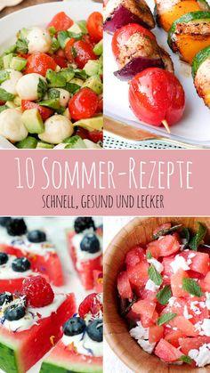 Healthy Vegetable Recipes, Healthy Cooking, Healthy Eating, Cooking Recipes, Summer Snacks, Summer Recipes, Healthy Fruits, Diy Food, Food To Make